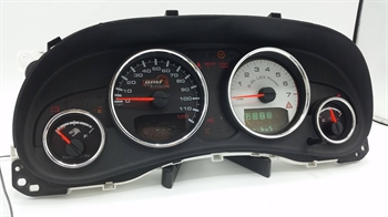 Jeep  JK  LS Cluster Gauge Overlays
